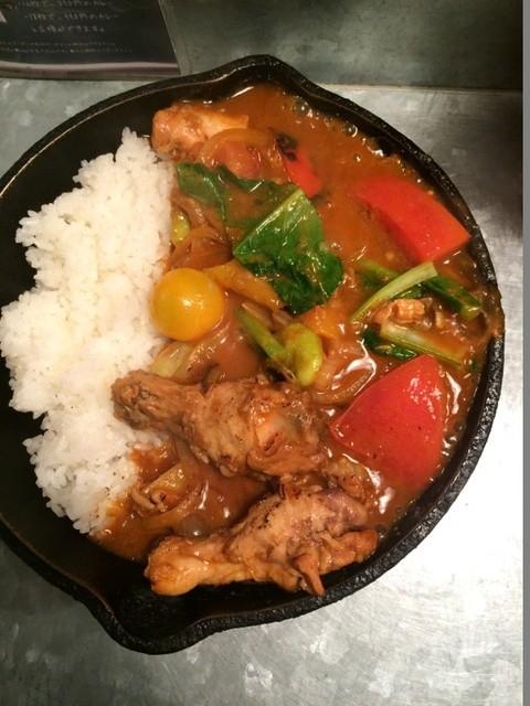 野菜を食べるカレーcamp エキマルシェ大阪店 - 上から