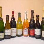レストラン マリー - <ワイン>種類豊富に取り揃えています。