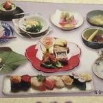 おおずし - 百合(寿司コース)6500円