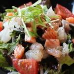 糀Cafe Izakaya Suiren - 海鮮サラダ