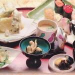 おおずし - 寿司天ぷら膳2700円