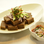 マンナ - どんぐりの寒天・・・弾力が凄く韓国では人気のある一品料理です!《ドットリムック》