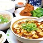 香港楼 - 麻婆豆腐定食