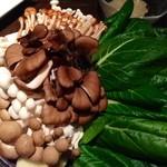 25724565 - 火鍋の野菜