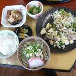 麺喰い峠 - 日替り定食600円