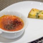 スゥリル - トマトのクレームブリュレと米粉のケークサレ【2014年3月】