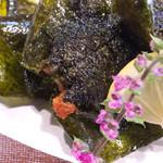 凛音 - 山芋と明太チーズの磯辺揚げ