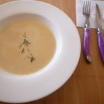 シェ ロッスリー - 野菜のポタージュ