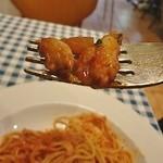 BASTA - ワタリガニは剥き身なので食べやすいです