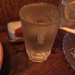 立ち飲み七助 - 「浦霞」380円