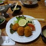 くまさんの台所 - カニクリームコロッケ