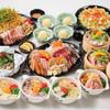 道とん堀 - 料理写真:ぽんぽこ宴会