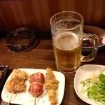みぃちゃん - 生ビールで乾杯!