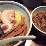 たけちゃんにぼしらーめん - つけ麺。930円。