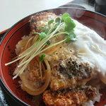 ビーフビレッヂ区界 - 味噌カツ丼(カツ丼)