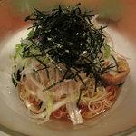 江の島 はまや - ねぎとろつけ麺 1000円 (2009_7_25 撮影)