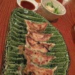 江の島 はまや - 焼き餃子 420円 (2009_7_25 撮影)