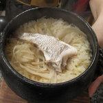 日本料理にわの - 鯛飯