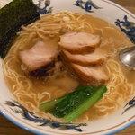 松波ラーメン店 - 焼豚麺