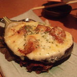 うみひこ - 地鶏と米ナスのチーズ焼き