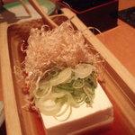 うみひこ - 冷たまり豆腐