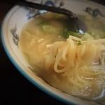 北海ラーメン - ツルツル麺
