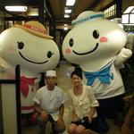 港キリン - 名古屋港開港100周年キャラクター、ポータン・ミータン