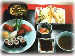 港キリン - 定番の「すし定食」2000円