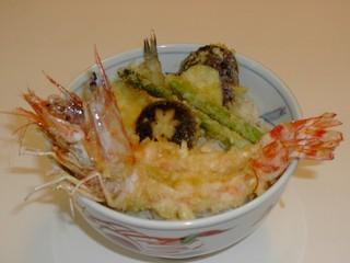 港キリン - 車海老天丼3300円