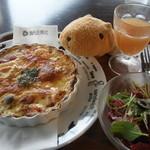 眺めのいいカフェ パ・ノ・ラ・マ - 五台山ドリア