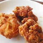 レストラン信天翁 - 鳥の唐揚げ