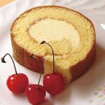 まんま みじんこ洞 - カスタードクリームのロールケーキ…300