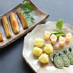 普茶 西願寺 - 前菜・季節もの