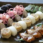 普茶 西願寺 - 筝羹。煮物の盛り合わせ。