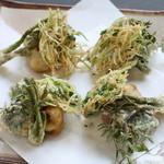 普茶 西願寺 - 油滋。味付け天ぷら