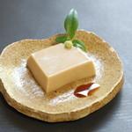 普茶 西願寺 - 胡麻豆腐