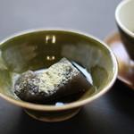 普茶 西願寺 - お茶菓子