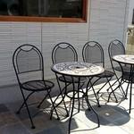 ブーランジェリー パルク - 外のテーブルが