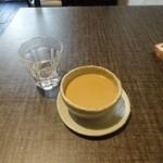 薬膳スープカレー・シャナイア - ホットチャイ450円