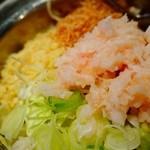 鉄板焼肉 鑠鑠 - 三河鶏の軟骨もんじゃ