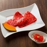 トモ三角(醤油ダレ・ピンクロックソルト・おろしポン酢の3種のタレが付きます)
