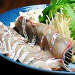 割烹やま - 鳴門鯛しゃぶしゃぶコース