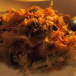 25809262 - よせ豆腐とあおさ海苔の和風サラダ