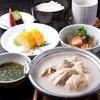 新三浦 - 料理写真:ランチ 水だき小鍋御膳