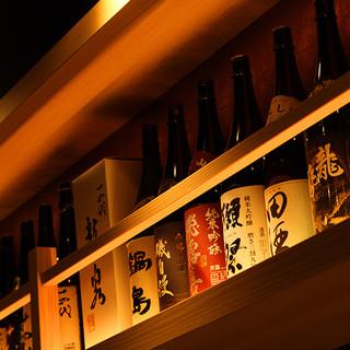 初心者から玄人まで楽しめる日本酒の数々をご用意!