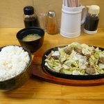 鉄皿多田屋本店 - 鉄皿大+ご飯大