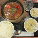 25820440 - 石焼麻婆豆腐セット 750円