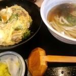25820617 - 親子丼+ミニうどん