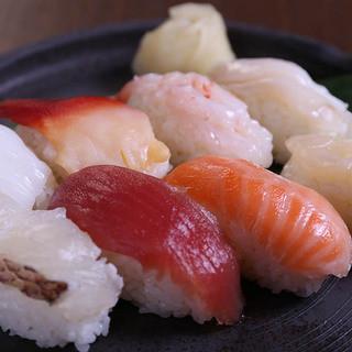 しゃぶしゃぶとお寿司の食べ飲み放題コース