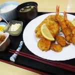 キッチン ハヤサカ - 料理写真:2014.02フライ定食(920円)